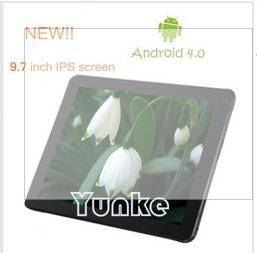 9.7 inch IPS Optional capacitive screen dual core 1G DDR3 8G dual camera Bluetooth tablet pc