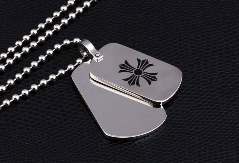 Fashion wholesale metal etching dog tags for pet