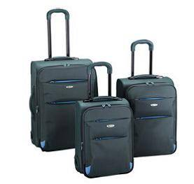 SOFT/PP COMBINED TROLLEY SUITCASE SET