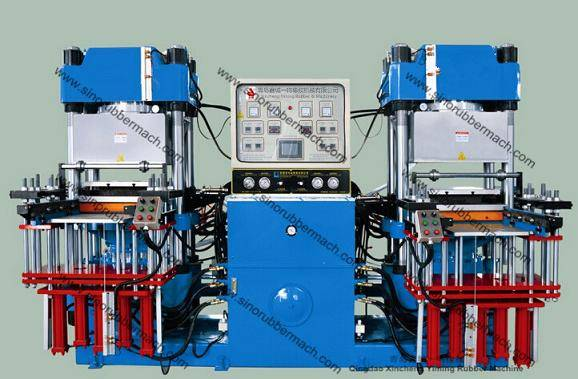 4RT Vacuum Rubber Molding Press,Rubber Compression Moulding Press Machine
