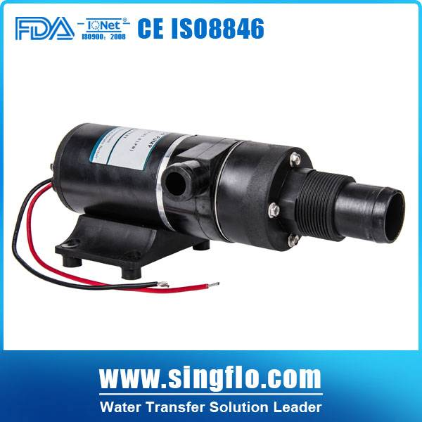 12v dc 49.2L/min high flow macerator pump/macerator pump toilet/sewage water pump
