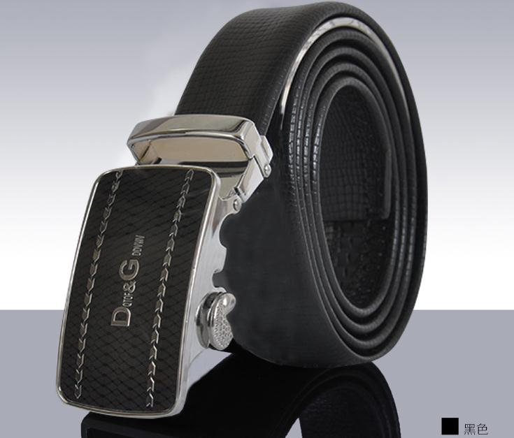 leather belt for man with antomated buckle(A-017)