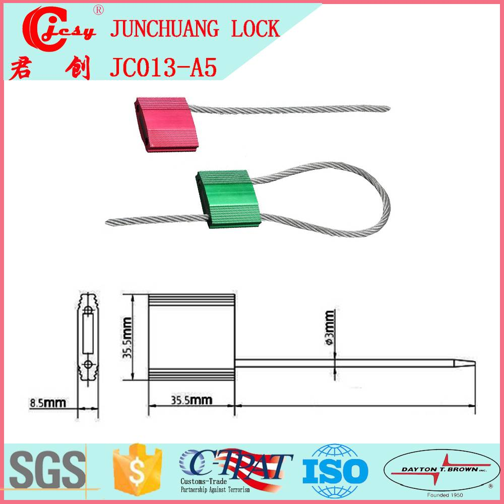 Pull tight wire cable seal