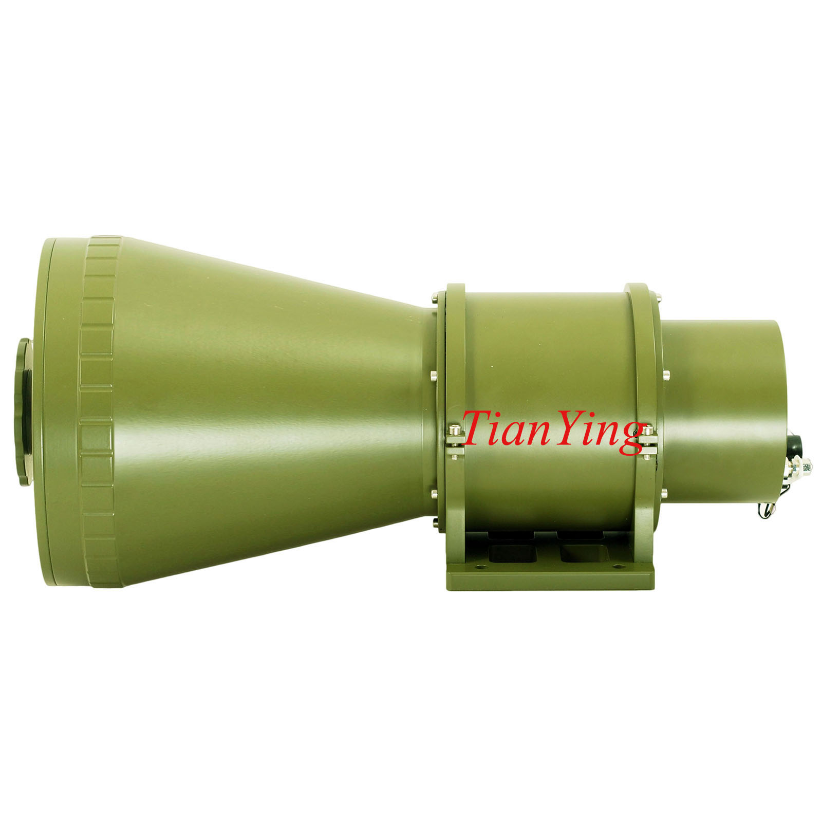 640x512 48mk 50/200mm Focus 2km/5km Surveillance Infrared Thermal Camera