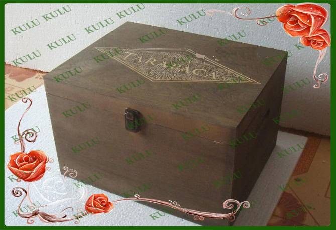 wooden packing box for sale