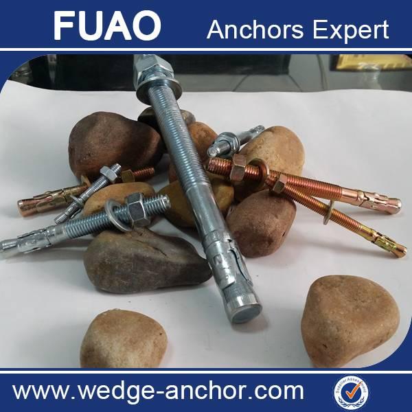 carbon steel wedge anchor / thru bolt
