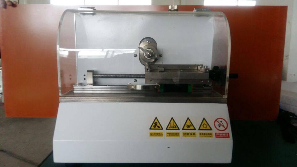 Electronic V notch cutting machine
