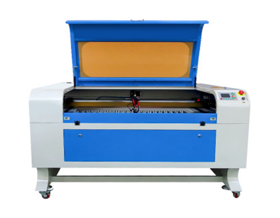 Laser cutting machine for cutting and engraving wood acrylic glass
