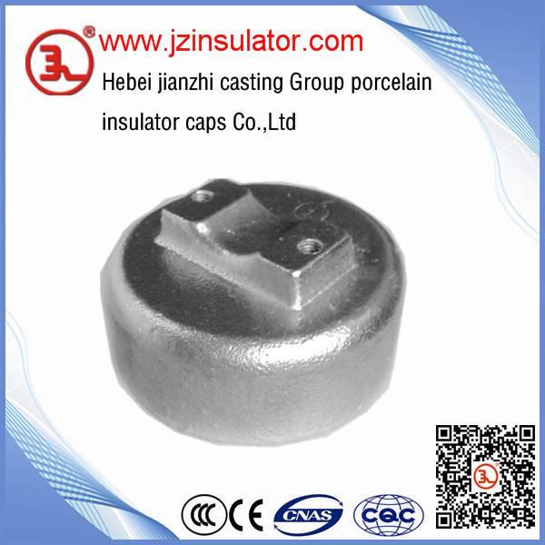 ductile iron cap for high voltage insulator