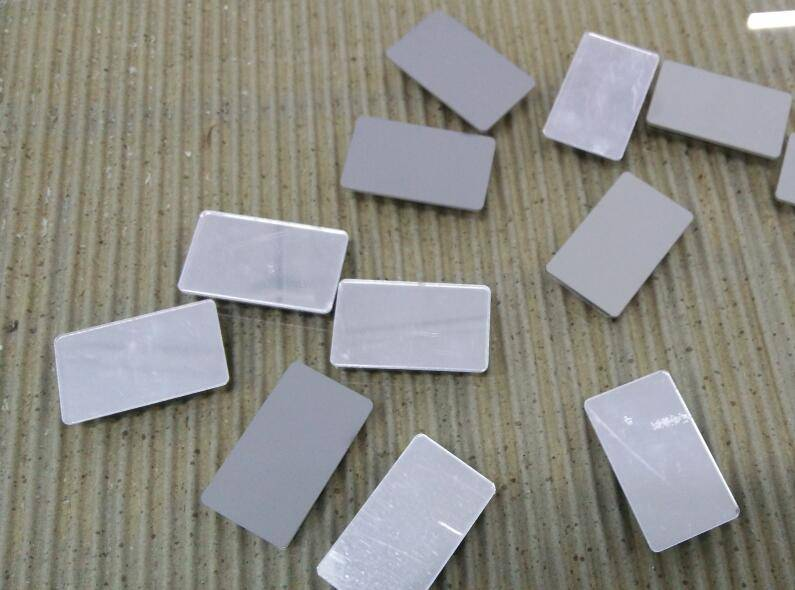 Silvery 1mm thickness acrylic mirror sheet
