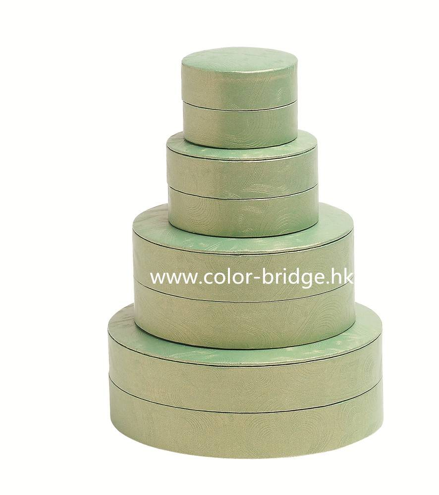Customizing Round Cardboard Paper Gift Box Jewelry Box