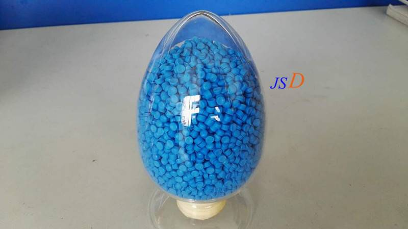 TPE granules as cable jacket raw material that is used for new energy vehicle charging pile