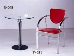 Bar talbe B-068, chair Y-031
