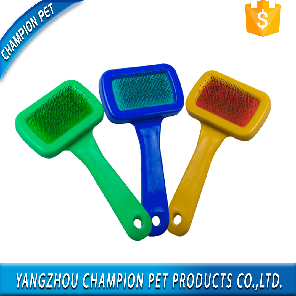 Cleaning Pet Hair Removal Slicker Brush