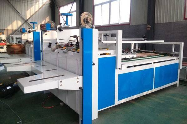 Semi automatic folder gluer , Model QH2800