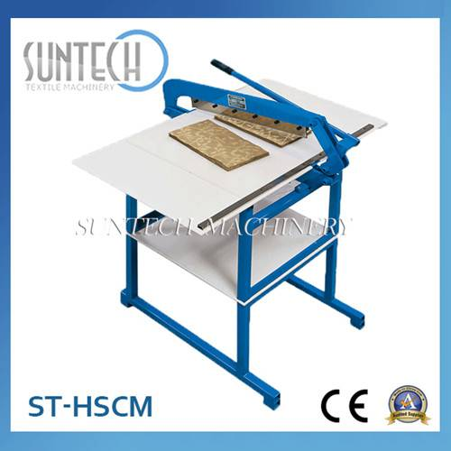 SUNTECH Hand Type Fabric Sample Cutting Machine