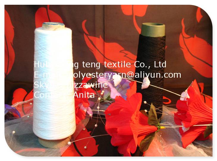 42/2 Polyester spun yarn