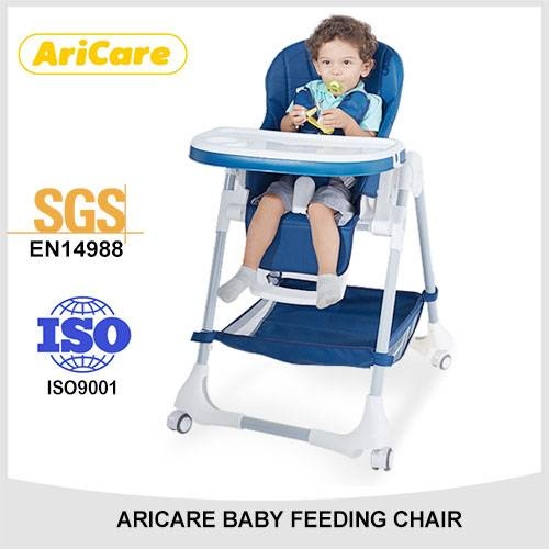 Baby Folding Plastic High Chair for feeding