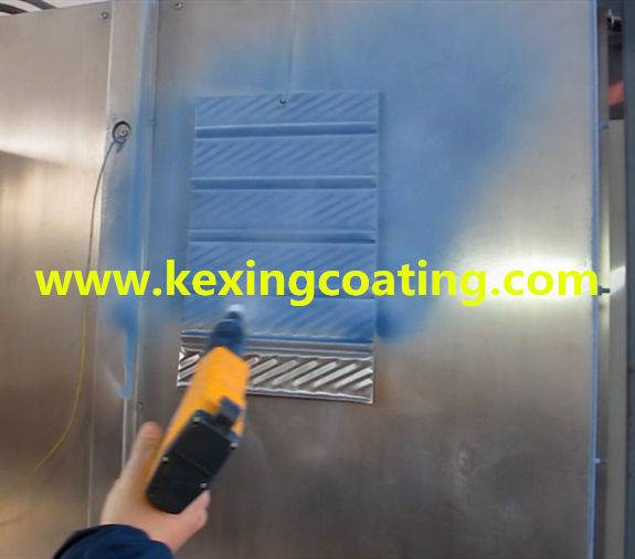Aluminium Alloy Wheel Powder Coating Gun