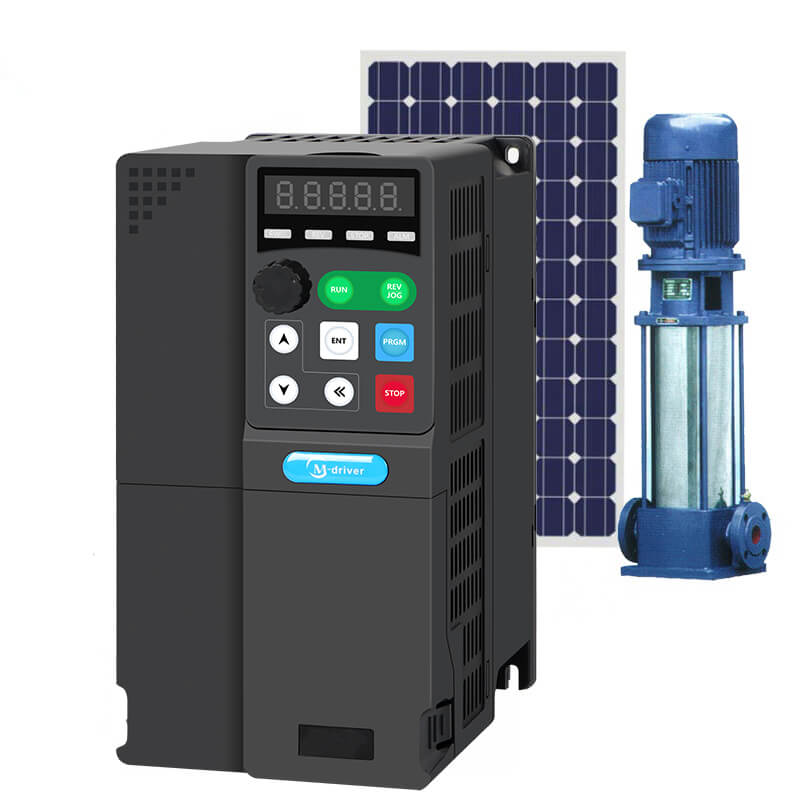7.5KW VFD inverters 380V 220V ac three phase 5HP solar inverter for solar pump