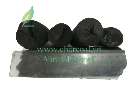 BBQ Eucalyptus charcoal with great fire, nice shape and hot temperature