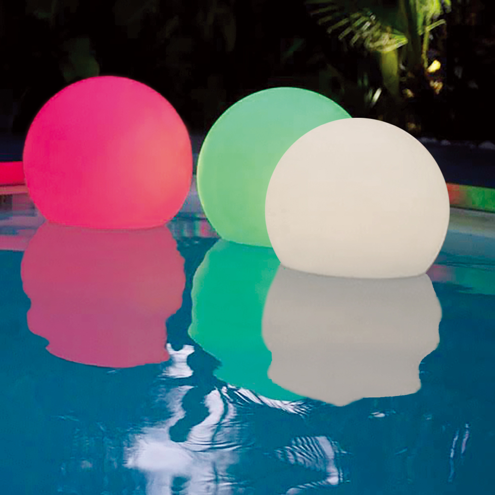Solar Waterproof Floating Lights Color-changing Emotion Ball Camping Beach Home Garden Lights