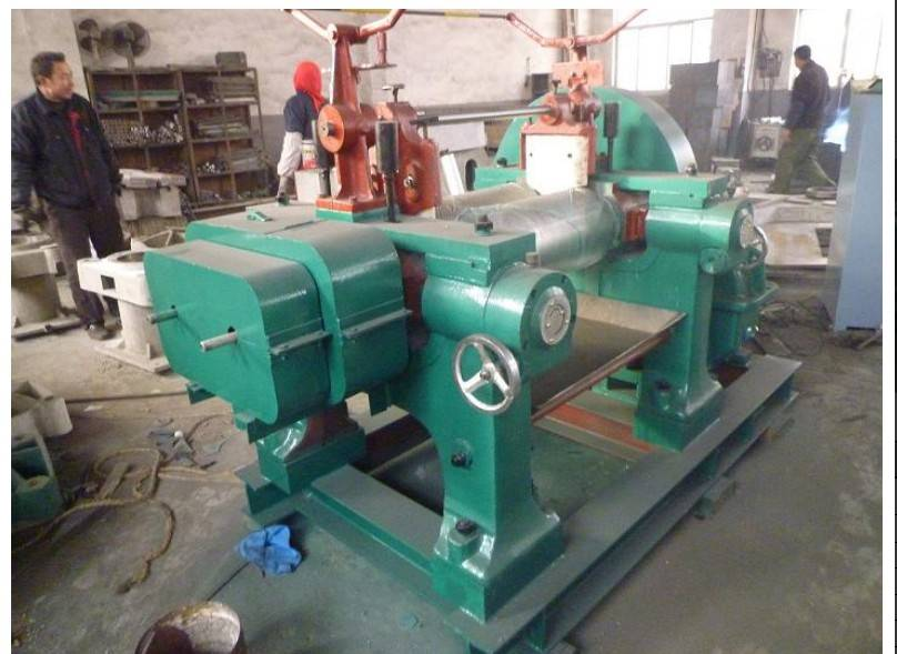 Open Type Mixing Mill For Rubber,Two Roll Mixing Mill,Rubber Mixer