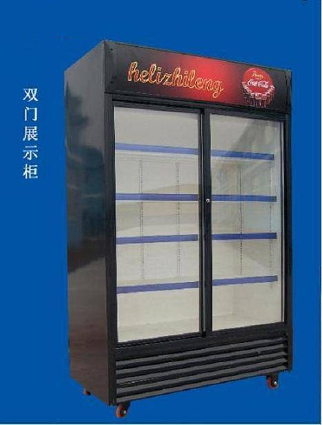 Upright Double Acting Door Showcase SC-700