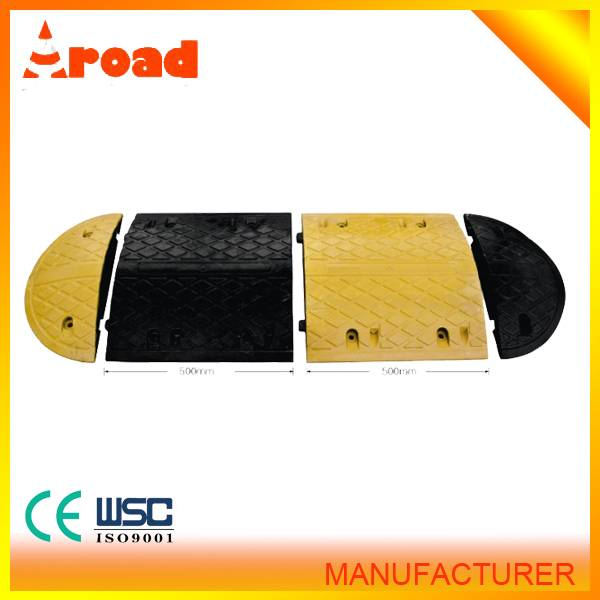 500*350*50mm rubber speed bump seller