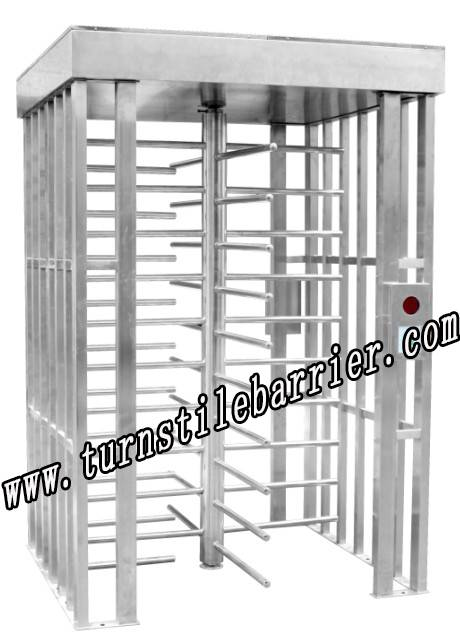 turnstile security gate traffic barrier boom door parking system waist height turnstile swing gate f
