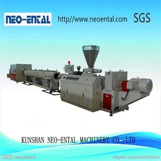 High Capacity PVC Pipe Plastic Extrusion Machine Production Line