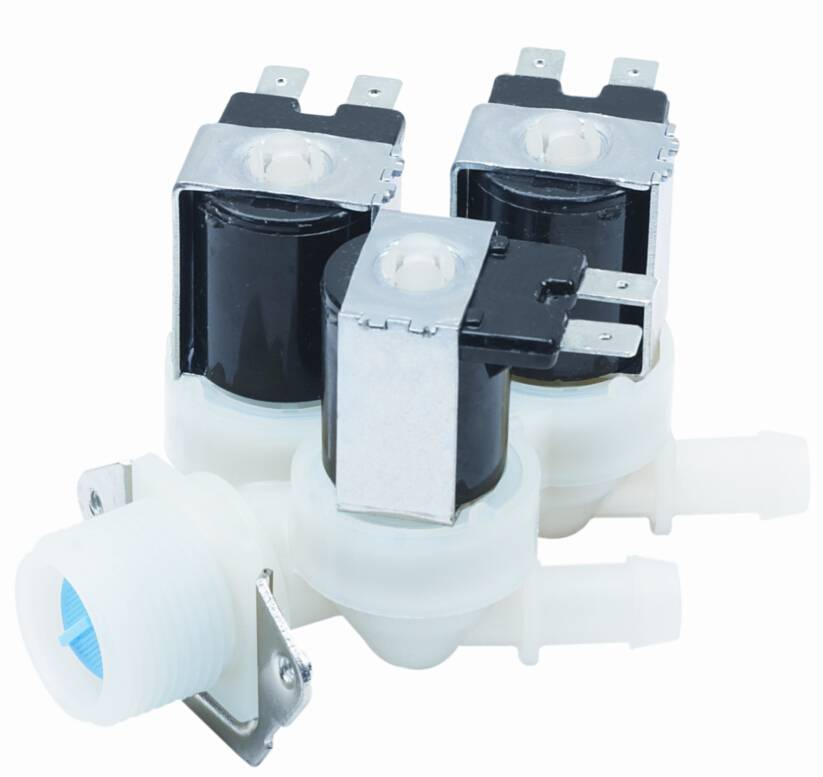 three way soelnoid valve for  washing machine