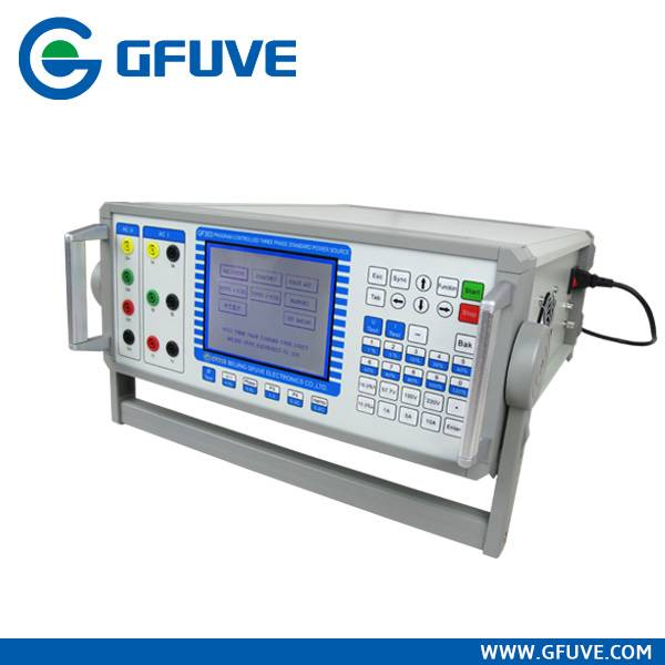 GF303 PROGRAM-CONTROLLED THREE PHASE STANDARD POWER SOURCE