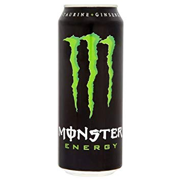 Monster Energy Drink 500ml Ripper Yellow Khaos Lo Carb