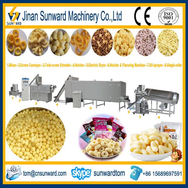 Cheese Ball Snack Food Processing Line Machinery