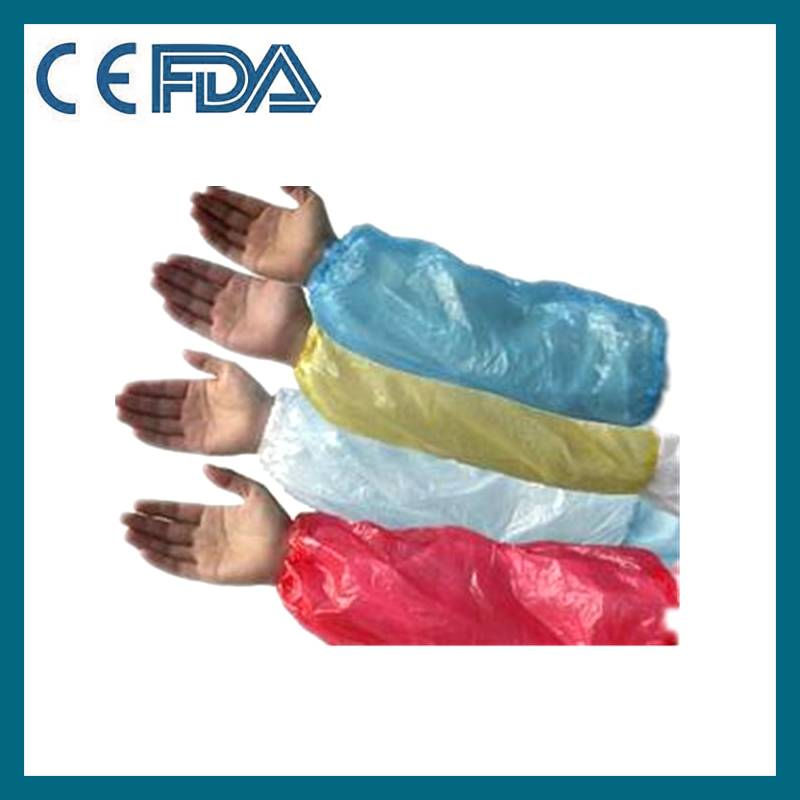 Disposable nonwoven/ plastic oversleeve