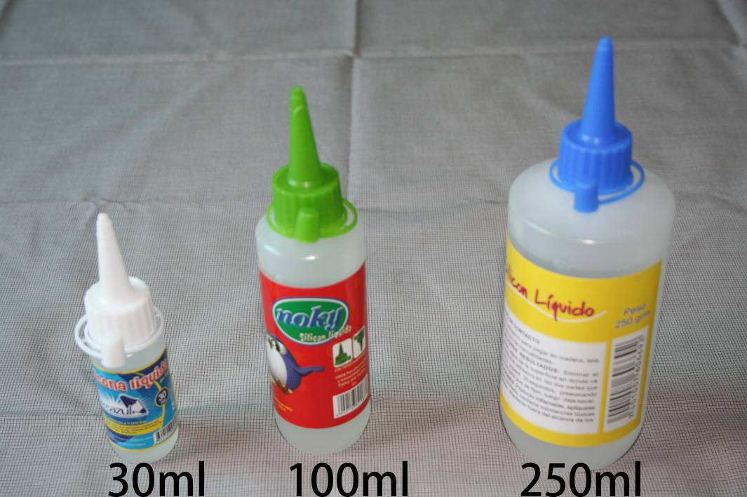 Liquid silicone glue