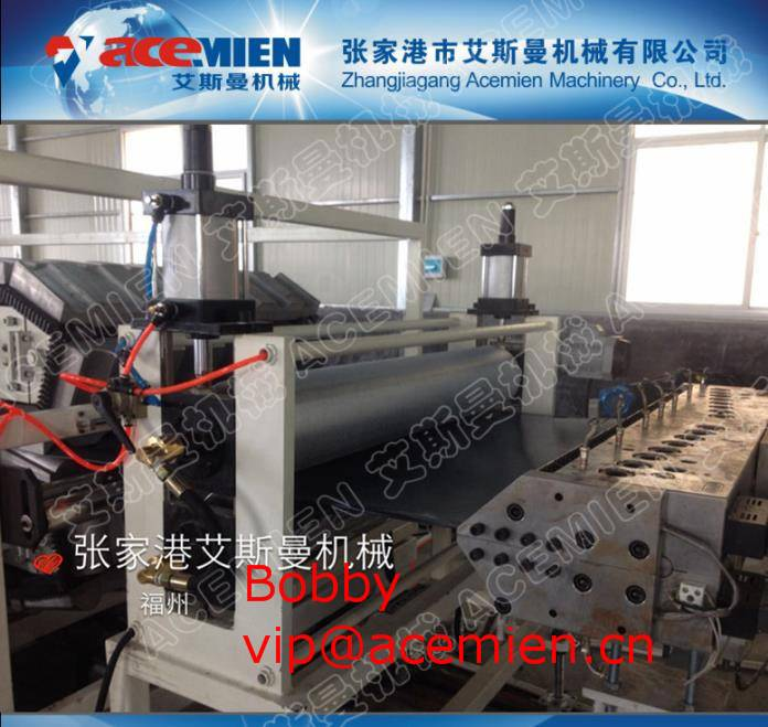 Newly Designed,Conveniently Operated Plastic Roof Tile production line