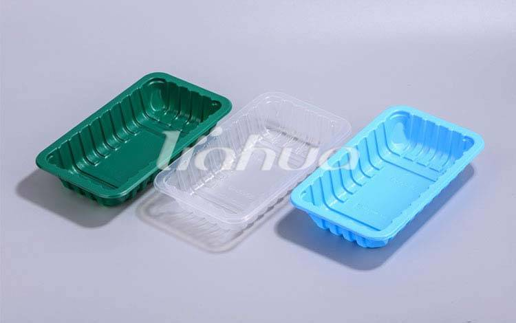 EVOH BARRIER MAP TRAYS AND CUPS