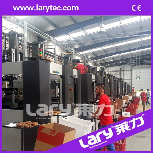 LRS165 Automatic Rubber Shoe Sole Injection Moulding Machine, CE Certificated Shoe Sole Making Machi