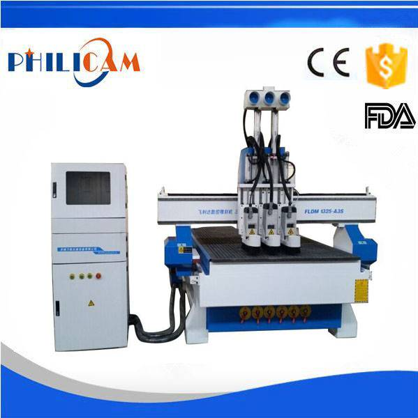 FLDM1325 multi-spindles woodworking cnc router