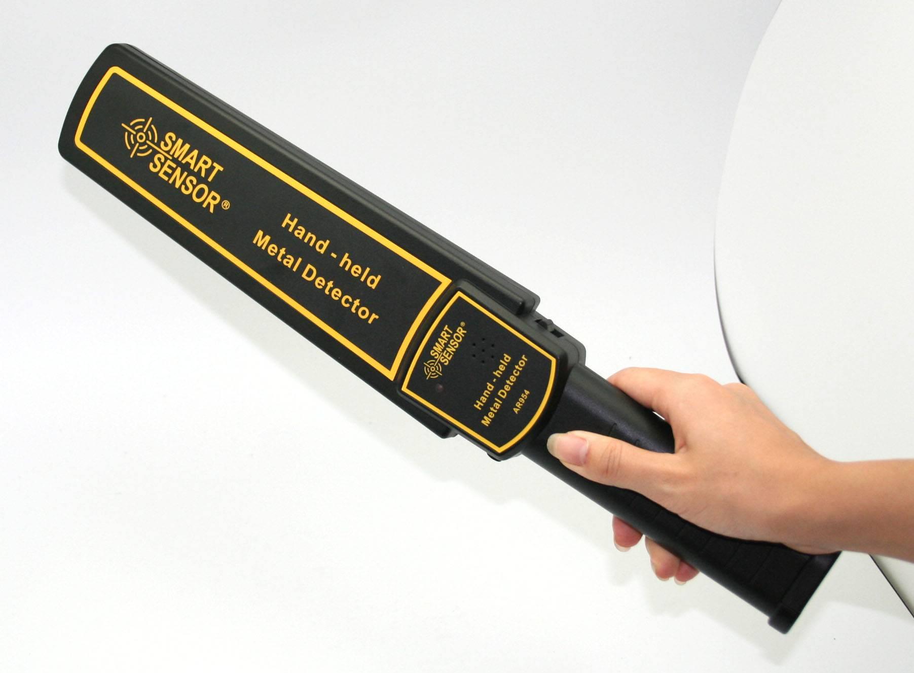 Smart Sensor Hand-Held Metal Detector AR954
