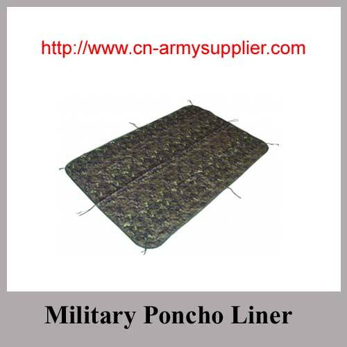 Camouflage Nylon Oxford Polyester Army Military Poncho Liner