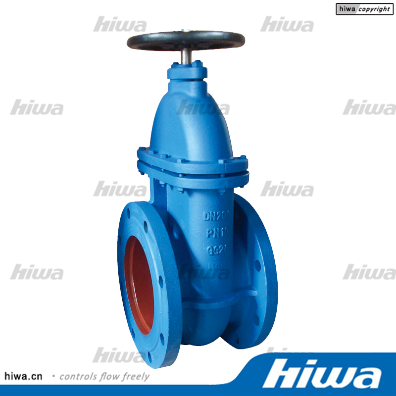 DIN 3352 F4 Non-rising stem metal seated gate valve