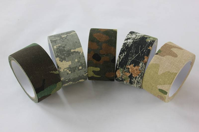 Camo Tapes Come In A Variety Of Patterns