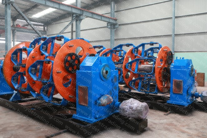 Planetary Stranding Machine Big Section of Steel Stranded Wire and Steel Wire Rope Making