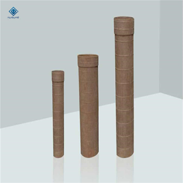 High refractoriness foundry straight paper sprue tube for casting