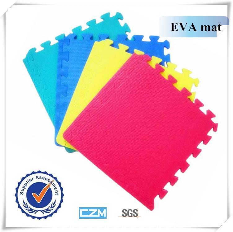Eva foam interlocking alphabet puzzle floor mat