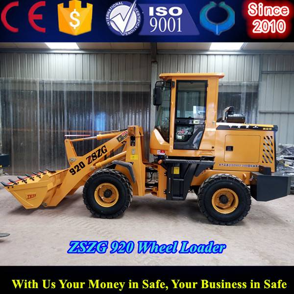 articulated link front type small wheel loader