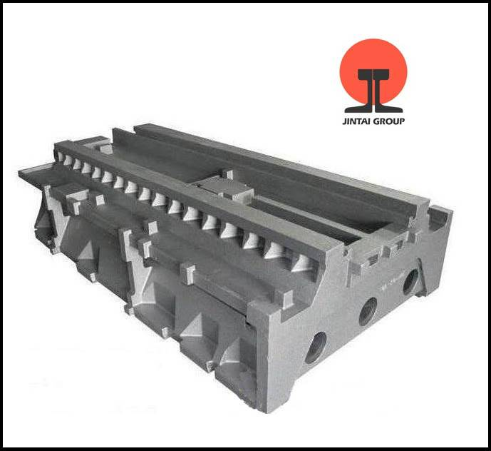 JINTAI Customrized High Quality Ductile and Gray Cast Iron Worktable for Machine Tools on Sale